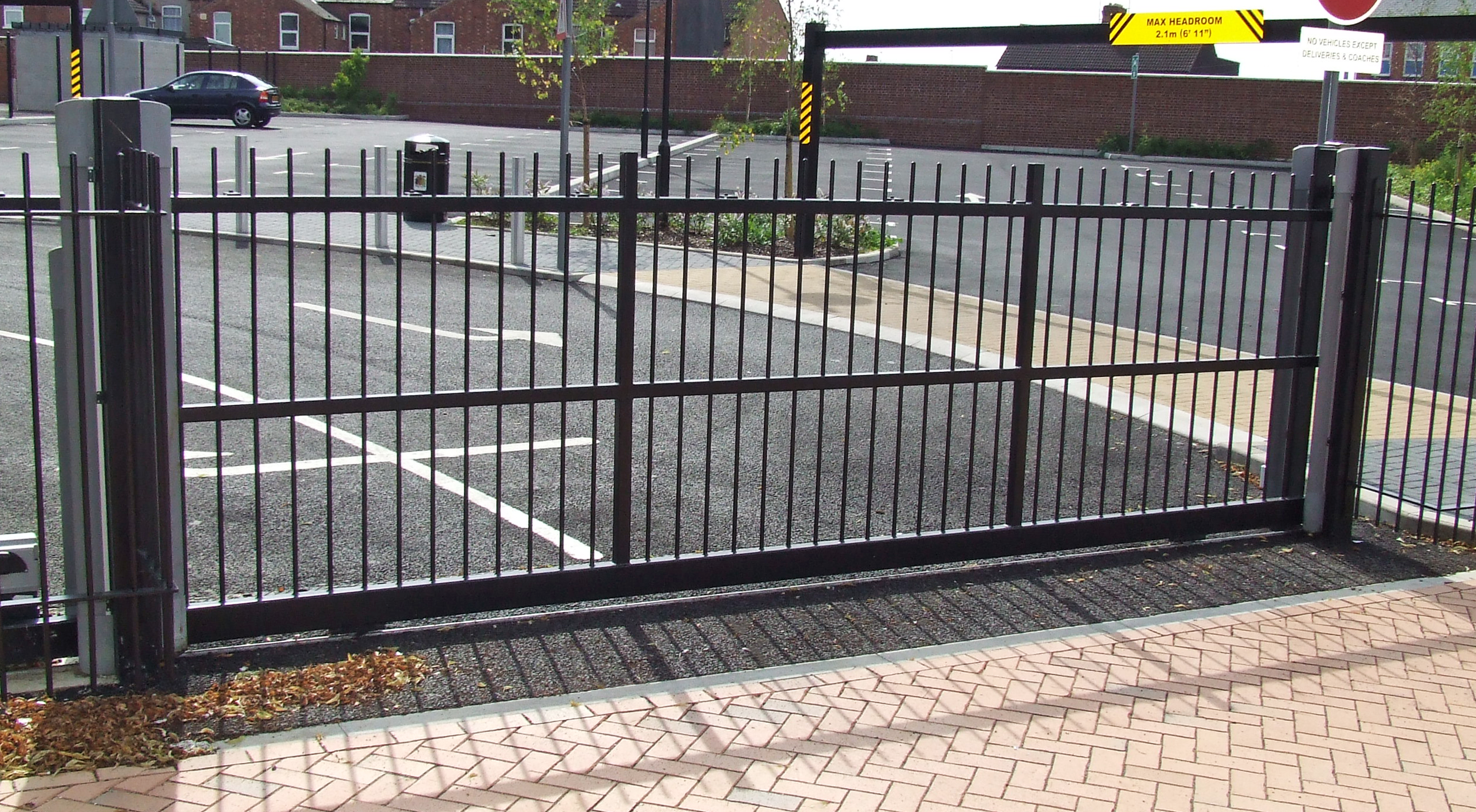 School Security Gates 187 Residential Amp Commercial Electric