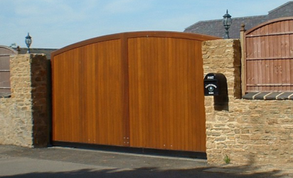 Wooden Gates Residential Commercial Electric Gates Agd Systems